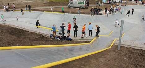 Flood-Halting Skateparks