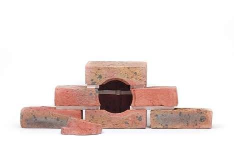 Avian-Sheltering Bricks