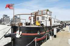 Upcycled Barge Penthouses - This Battersea Barge has Been Transformed into a Luxury Abode