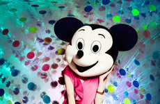 Iconic Mouse Fashion Captures - This Series was Influenced by the Cartoon Minnie Mouse