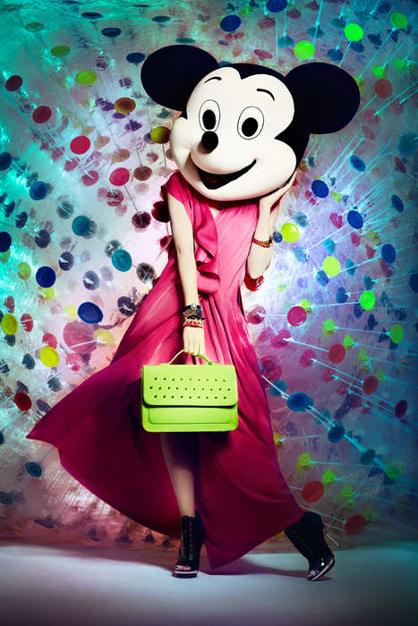 Iconic Mouse Fashion Captures