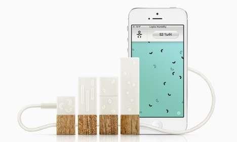 Smartphone Environment Monitors