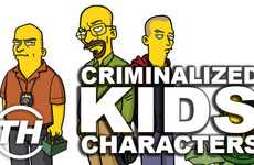Criminalized Kids Characters  - Courtney Scharf Reveals Her Favorite Twists on Childhood Icons