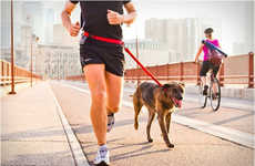 Handsfree Dog Leads - The Stunt Runner by Stunt Puppy Keeps Fido on a Leash but Your Hands Empty