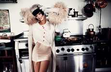 Modern Gatsby-Inspired Lookbooks - The Wildfox Daisy AW13 Catalog is Casually Glamorous
