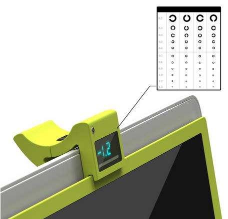 Eyesight-Adjusting Screens