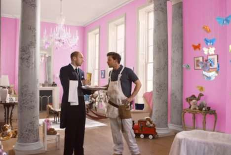 This Carling Beer Ad Shows the Royal Baby's Decorator Under Pressure