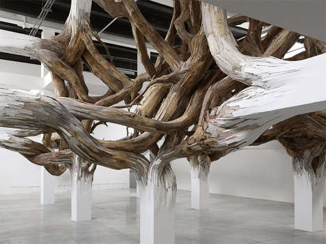 Organic Column Installations