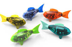 Water-Ready Robotic Fish - Hexbot's Robotic Pet Fish are Perfect for Forgetful Owners
