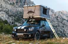 Miniaturized Camper Vehicles - The Mini Clubvan Camper Adds Some Cuteness to Camping Trips