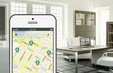 Sanctuary-Seeking Apps - The 'Breather' App Finds You Reprieve from Urban Life