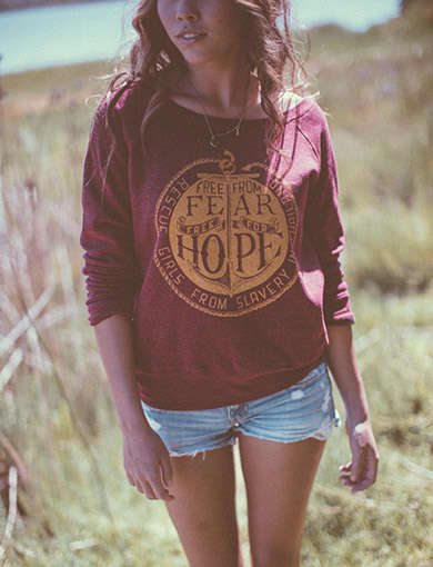 Justice-Driven Clothing - Sevenly and Destiny Rescue Team Together to End Child Slavery