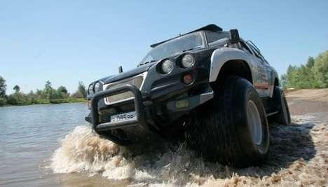 Amazing Amphibian Vehicles