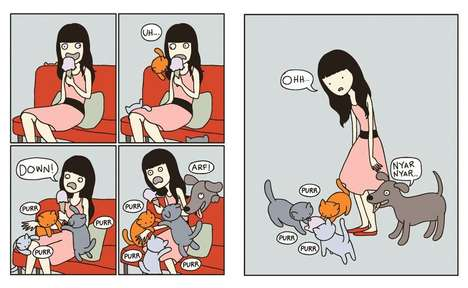 Comical Cat Comic Books