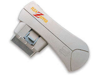 Flea-Zapping Animal Combs - This Flea Zapper Will Help to Keep Your Animals Comfortable