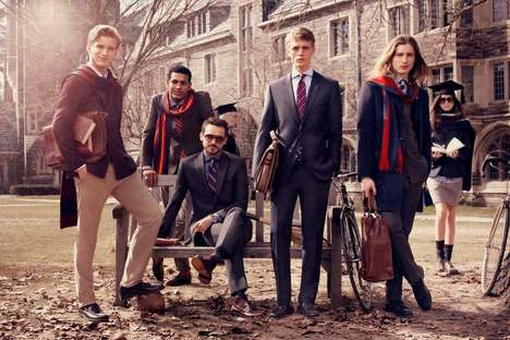Preppy College Life Photography
