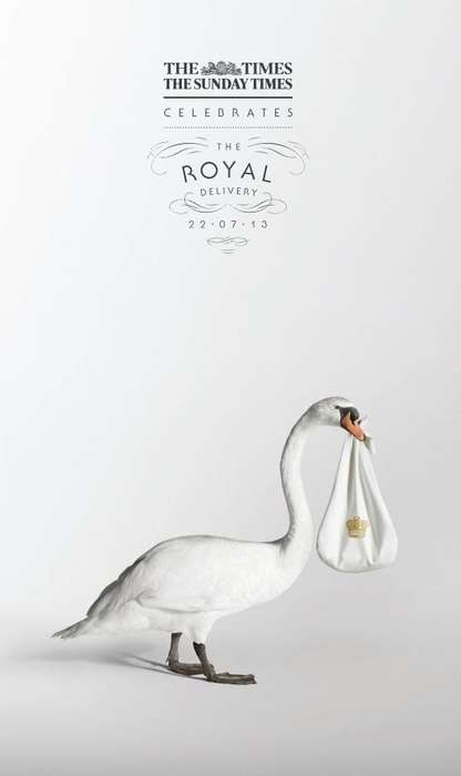 Royal Baby Delivery Ads