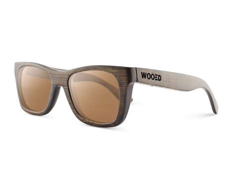 Reclaimed Wood Sunglasses - WOOED's Sunglasses are Eco-Friendly and Functional