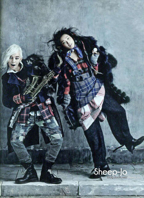 Grungy Hobo Chic Fashion