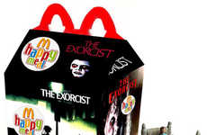 Filmic Fast Food Boxes - Newt Clements's Happy Meal Boxes Celebrate Pop Culture Films