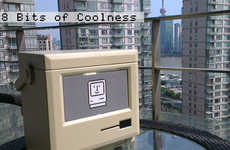 Nosalgic Computer-Shaped Coolers - The 'MaCool' Cooler is Shaped Like a Vintage Apple Computer