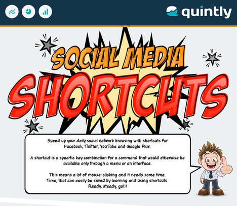 Social Media Shortcut Graphics
