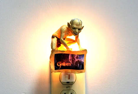 Light up a Dark Room with The Gollum Night Light