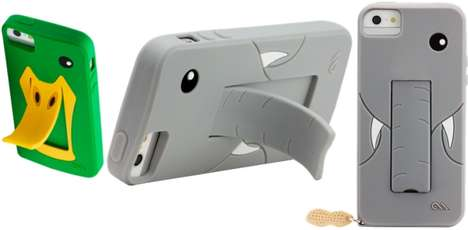 Animal Stand Phone Cases