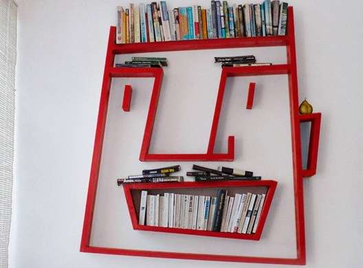 87 Peculiar Shelving Units