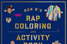 Rapper Coloring Books (UPDATE) - Shea Serrano and Bun B's Book is Transformed from Tumblr
