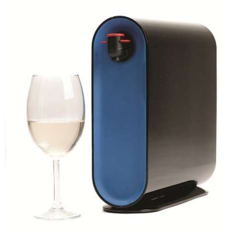 Anti-Gravity Wine Servers - This Boxed Wine Container Pours Effortlessly and Looks Good Too