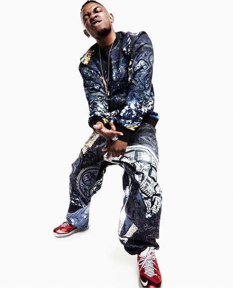 Dapper Rapper Editorials