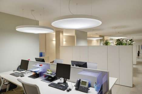 Sound-Absorbing Light Fixtures