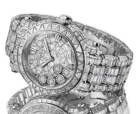 Decadent Diamond Timepieces