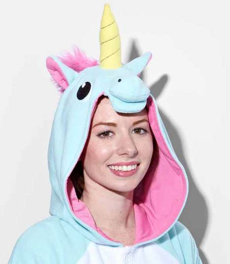 Unusual Unicorn Outfits - These Creature-Themed Adult Onesies Are Truly Magical