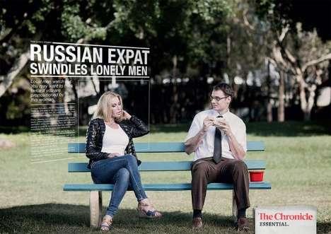 Spite-Revealing Newspaper Ads