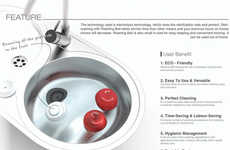 Pesticide-Repelling Devices - These Balls Use Electrolysis Technology to Sanitize Fresh Produce