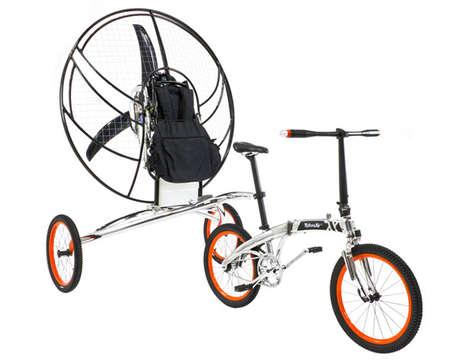 Multitasking Flying Bicycles