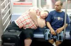 Subway Sleeping Pranks