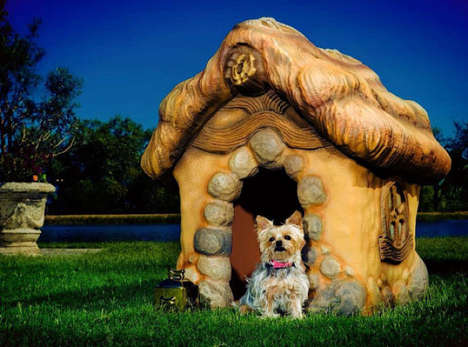 Eco-Friendly Pooch Cottages