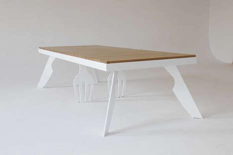 Utensil-Infused Tables