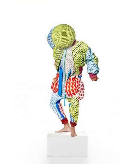 Eccentric Kaleidoscopic Fashion