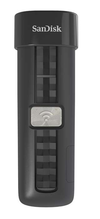 Wireless Storage Stations - The SanDisk Connect Wireless Flash Drive Allows for Over-the-Air Backups