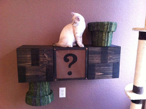 Game-Inspired Cat Toys