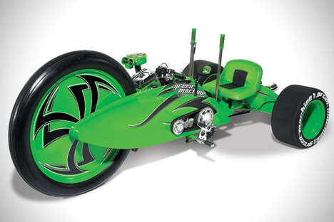 Neon Motorized Tricycles