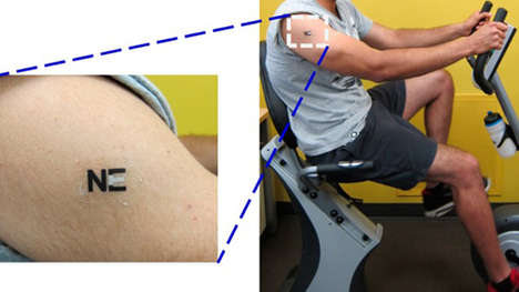 Fatigue-Sensing Tattoos - This Biosensor is a Temporary Tattoo That Alerts Athletes of Over-Exertion