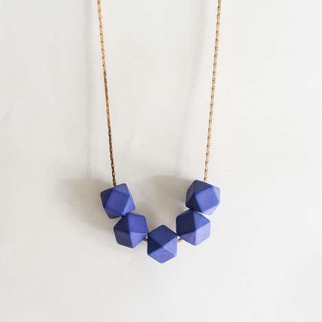 Geometric Vintage Modern Necklaces
