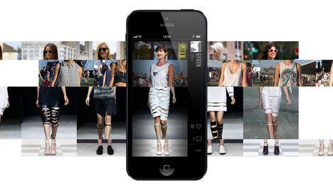 Digital Wardrobe Apps - The iPhone App FIGR Lets Fashionistas Create Personal Virtual Ensembles