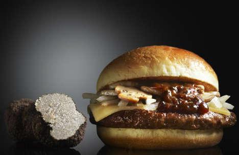 Gourmet Jewel-Themed Burgers