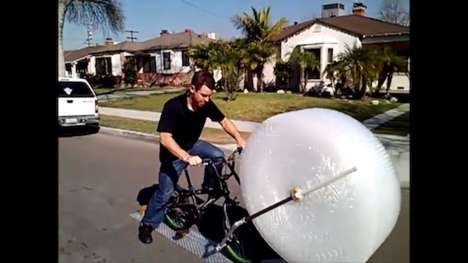Bubble-Popping Bikes